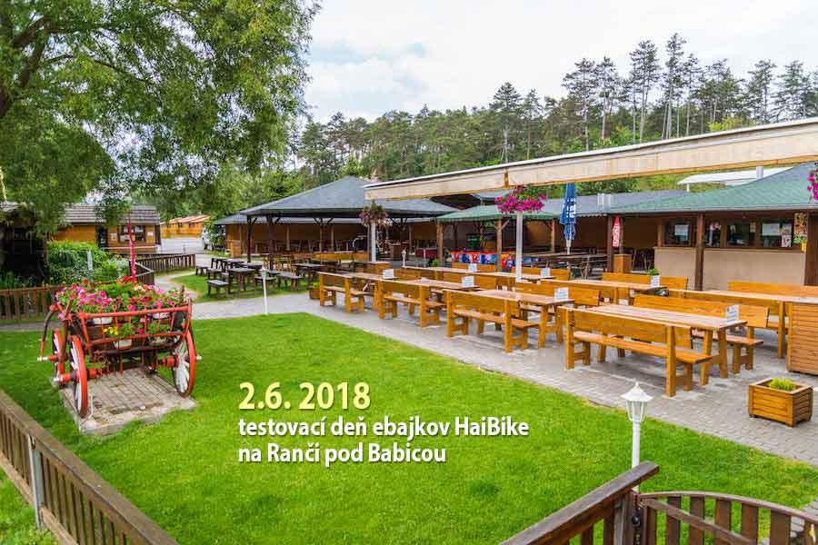 2.6.2018 - Testovací deň Haibike - Ranč pod Babicou
